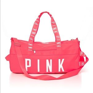 VS PINK Duffle Gym Bag